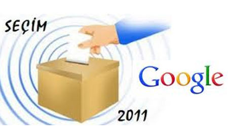google seçim 2011 doodle
