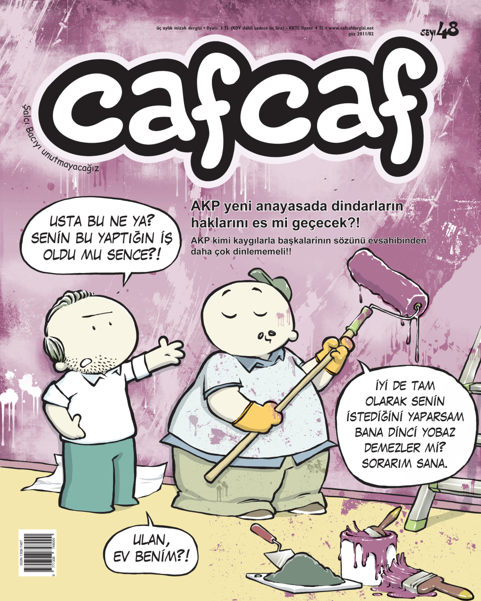 Cafcaf 48 Kapak - orta