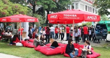 AMD ve Toshiba'nın Üniversite Şenlikleri Turu Devam Ediyor!