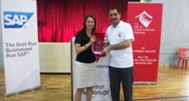 SAP'den Sosyal Hizmetler Gençlik ve Spor Kulübüne Destek