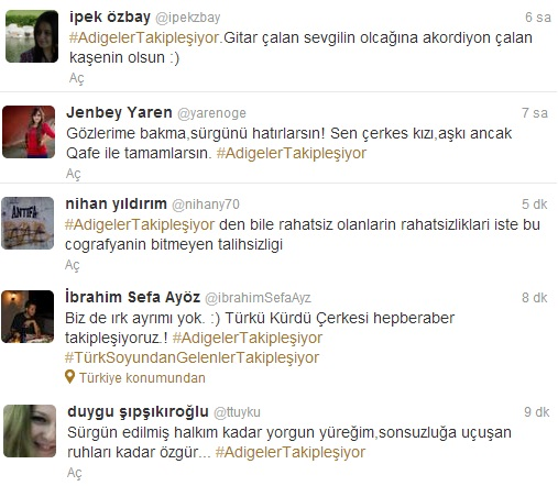 Adigeler Twitter'ı salladı! #AdigelerTakipleşiyor