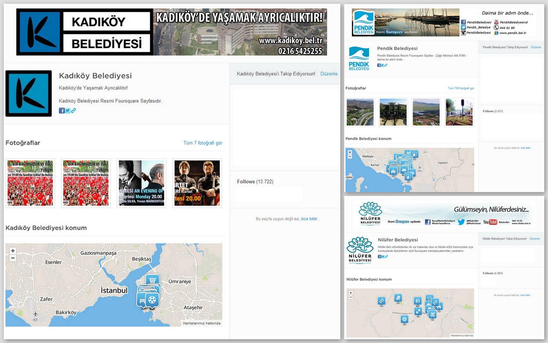 belediyeler foursquare