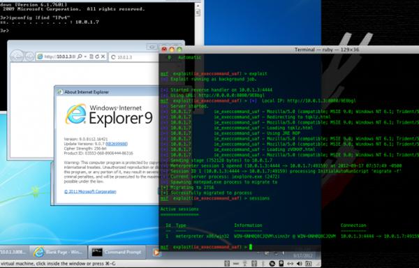 İnternet Explorer Java Acığı